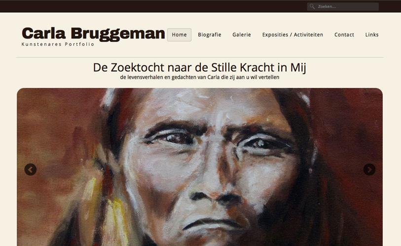 Website Carla Bruggeman