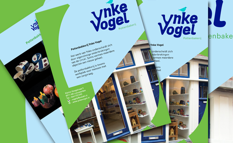 Flyer Ynke Vogel