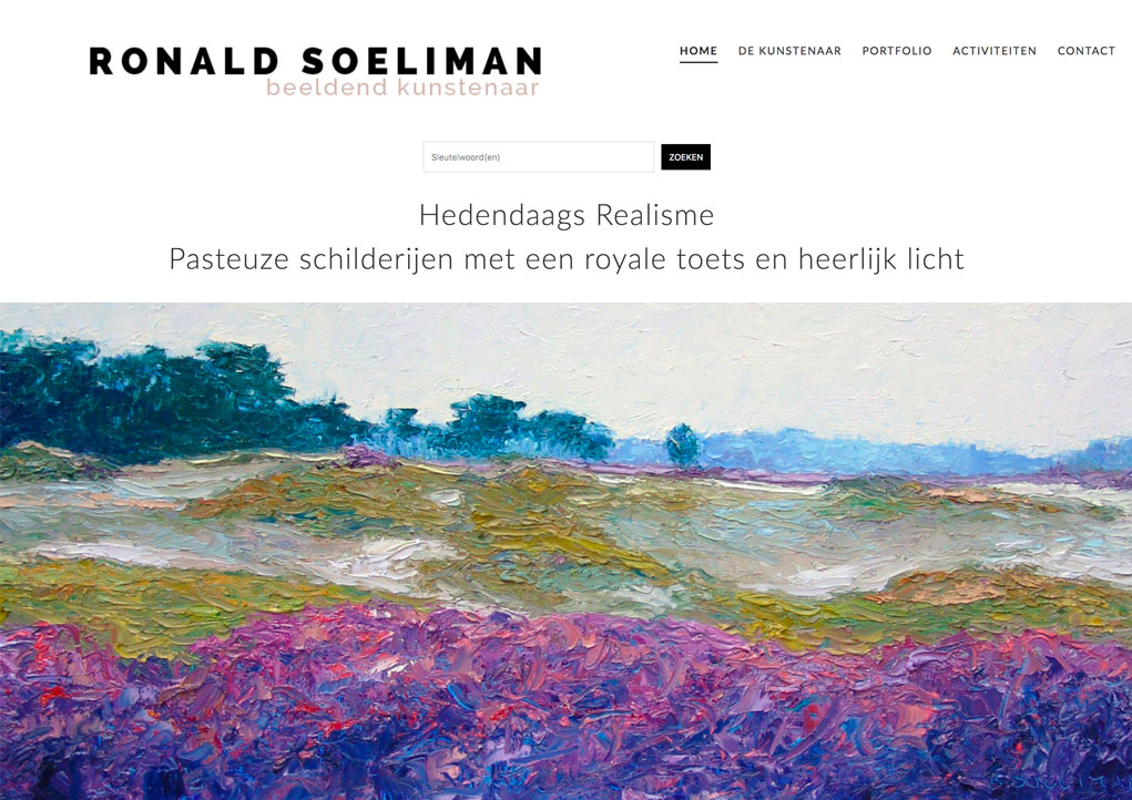 Website Ronald Soeliman